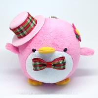 おめかしエコペンピンク(ピンク帽子赤緑チェック)