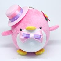 おめかしエコペンピンク(ピンク帽子ピンク紫リボン)