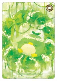 パスケース 森のエコペンリース