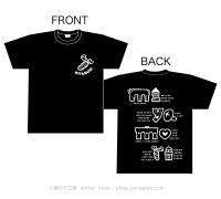 【黒・XLサイズ】みやもりTシャツ