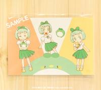 ポストカード 少女化エコペンちゃん
