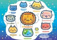 猫惑星シール