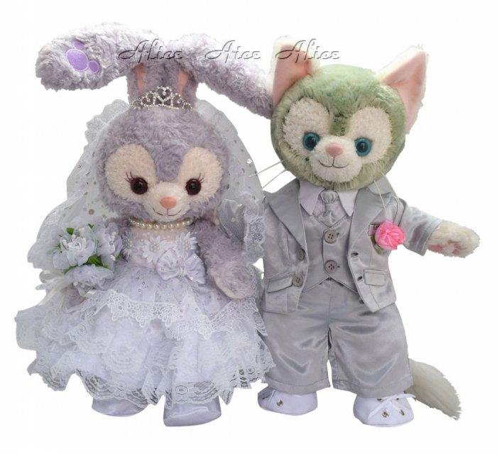 ジェラトーニ&ステラ・ルー コスチューム (ウエディングドレス&タキシードセット No.2 送料無料)