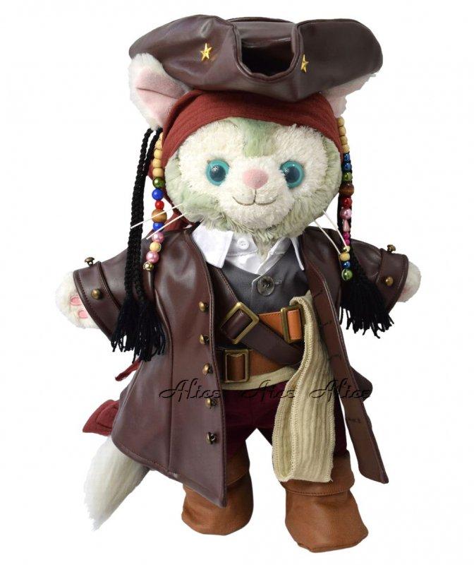 ジェラトーニ 服 コスチューム 海賊 パイレーツ(本体無 Sサイズ用)