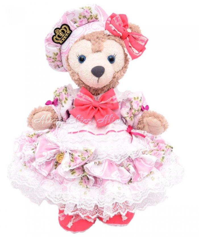 シェリーメイ用,盛り盛りドレス,薔薇