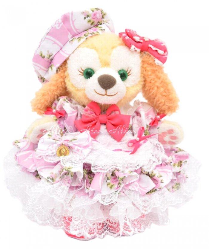クッキー用,盛り盛りドレス,薔薇