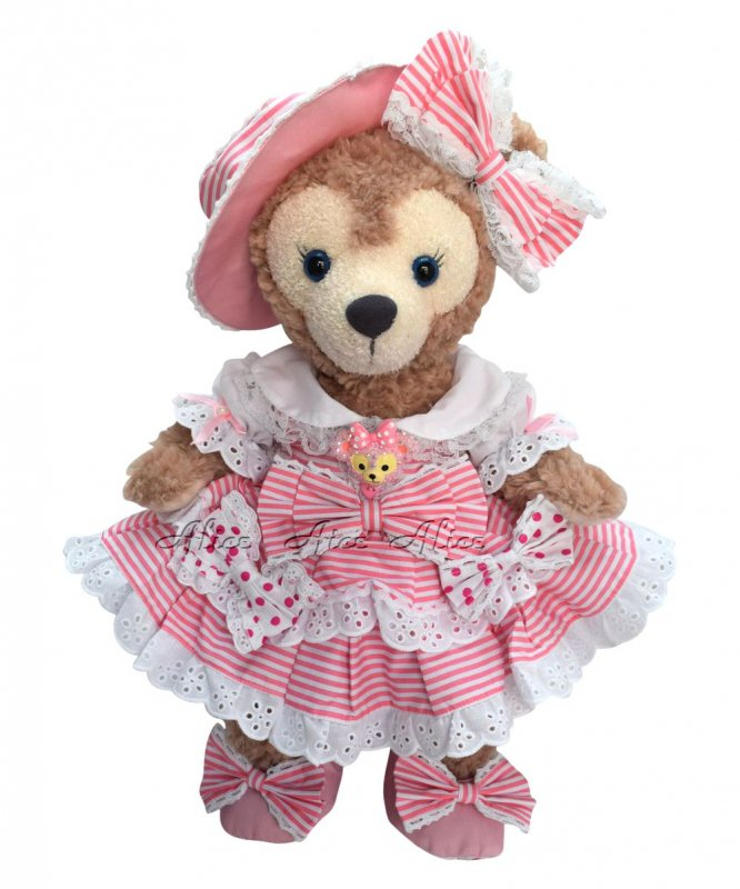 シェリーメイ 服 コスチューム ストライプドレス ピンク