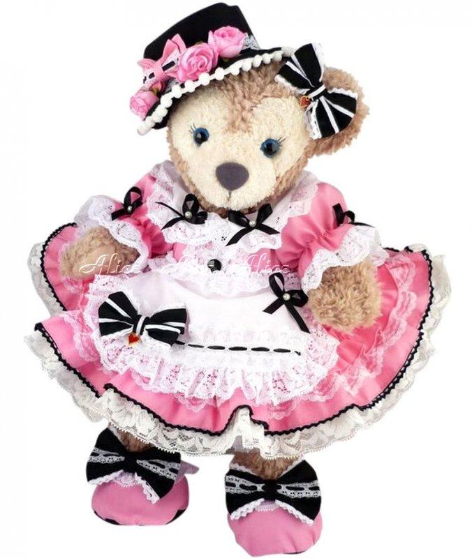 シェリーメイ 服 コスチューム 豪華 盛り盛りドレス ピンク【上質仕立】