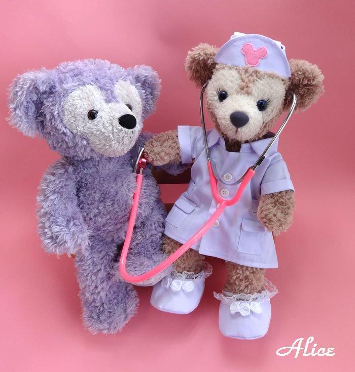 シェリーメイ 服 コスチューム 聴診器付 看護婦さん ナース