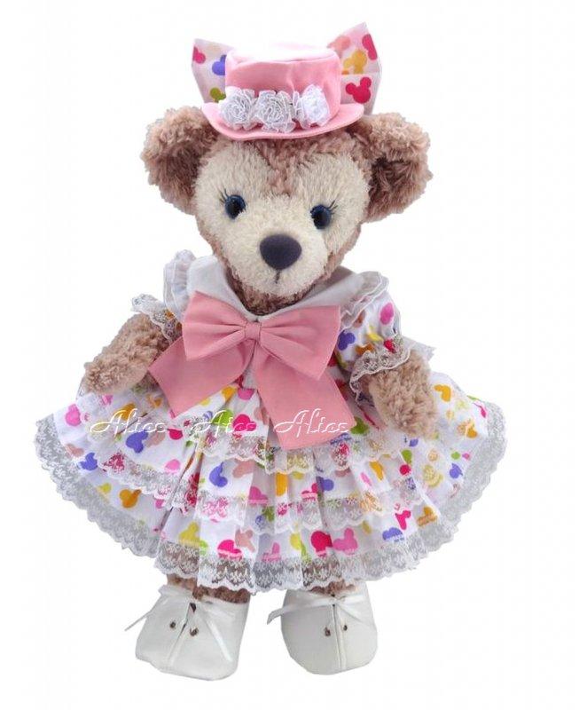 シェリーメイ 服 コスチューム 帽子&パニエ付 3段ドレス ミッキーアイコン