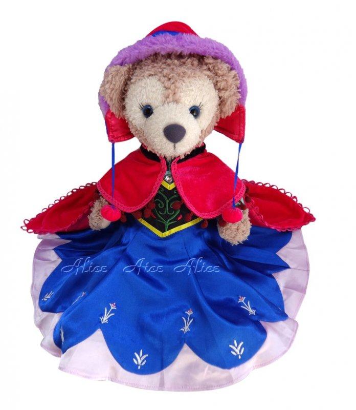 シェリーメイ 服 コスチューム アナと雪の女王 帽子付 アナ