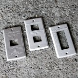 Aluminum Switch plate