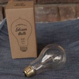 "Edison Bulb ""A-Shape (L) / 40W / E26″"