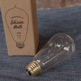 """Edison Bulb """"Signature (S) / 40W / E26″"""