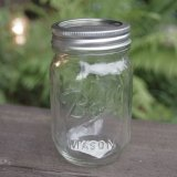 [Ball Mason Jar] Regular mouth 16oz clear