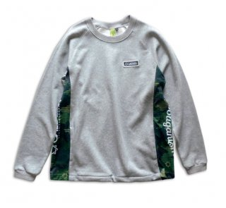 "<img class='new_mark_img1' src='//img.shop-pro.jp/img/new/icons12.gif' style='border:none;display:inline;margin:0px;padding:0px;width:auto;' />No.7030 DOCKING SWEAT TOP ""NEXUS"" GRAY"