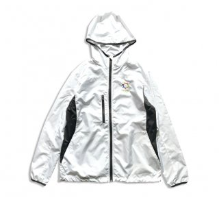 """No.8044 RIPSTOP HOODED JACKET """"PRISM"""" WHITE"""