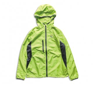"""No.8044 RIPSTOP HOODED JACKET """"PRISM"""" LIME"""