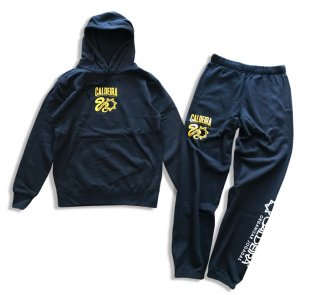 "SWEAT PARKER SET ""SNAKY"" NAVY"