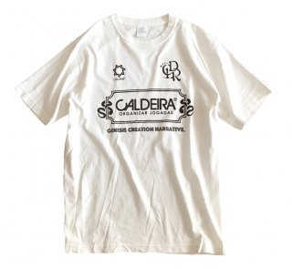 "No.9017 PIGMENT DYE T-SHIRT ""ADOVANCE"" WHITE"