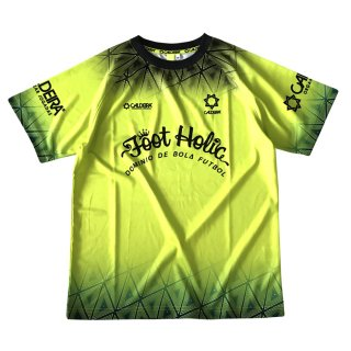 "<img class='new_mark_img1' src='https://img.shop-pro.jp/img/new/icons12.gif' style='border:none;display:inline;margin:0px;padding:0px;width:auto;' />COMBINATION PRA SHIRT ""MELT DOWN REMIX"" LIME YELLOW"