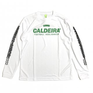 """<img class='new_mark_img1' src='https://img.shop-pro.jp/img/new/icons12.gif' style='border:none;display:inline;margin:0px;padding:0px;width:auto;' />L/S LINE SHIRT """"FUTEBOL FORCA"""" WHITE"""