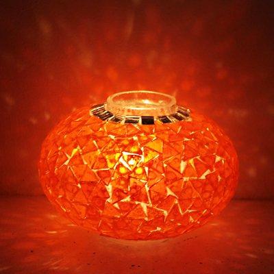トルコランプ【ガラスのみ】M オレンジガラス
