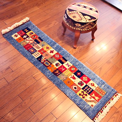 トルコ絨毯 NEW 136x37 ラグ マット