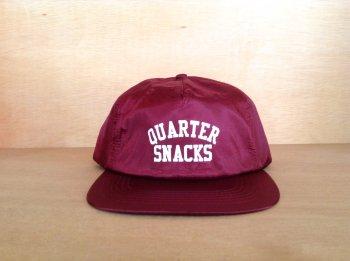 QUARTER SNACKS ARCH LOGO NYLON CAP