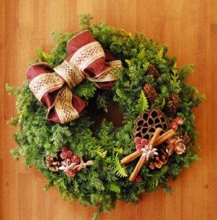 クリスマスリース  5