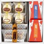 YK-1 ギフトセット 暖【 かすてら(黒糖味)個包装×2、心和プリン×2、えあちんすこう(黒糖、塩)、黒糖×2】