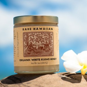【送料無料】Rare Hawaiian Organic White Honey 8oz<プレーン>