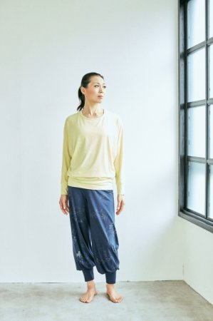avani-bottom-long<ねこ>  [TL82516-12] yoga JOURNAL vol.61モデル着用商品