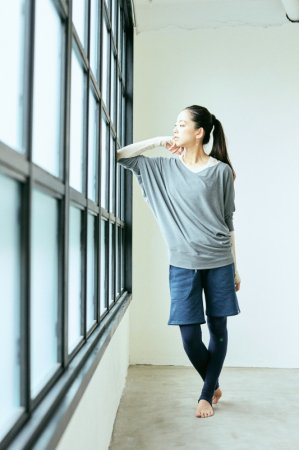 tapta-tops [TL82123] yoga JOURNAL vol.61モデル着用商品