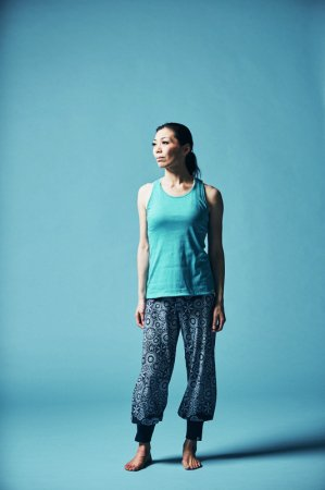 avani-bottom-long<フラワー>  [TL91516-13] yogaJOURNALvol.65掲載商品