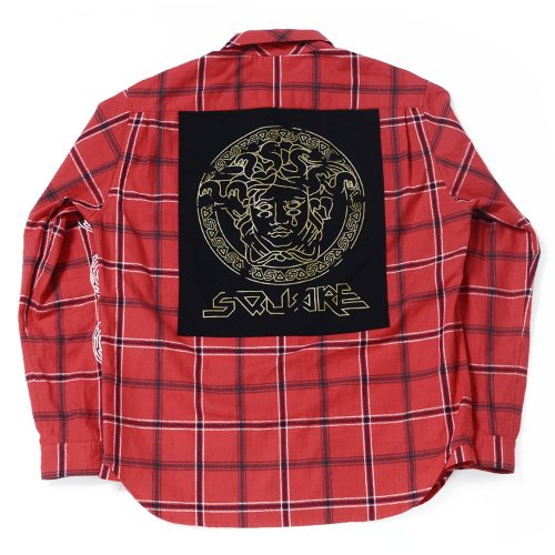 <img class='new_mark_img1' src='//img.shop-pro.jp/img/new/icons16.gif' style='border:none;display:inline;margin:0px;padding:0px;width:auto;' />PRINT CHECK SHIRTS