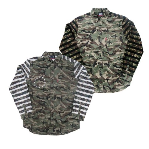 <img class='new_mark_img1' src='//img.shop-pro.jp/img/new/icons1.gif' style='border:none;display:inline;margin:0px;padding:0px;width:auto;' />CAMO-FLA SHIRTS