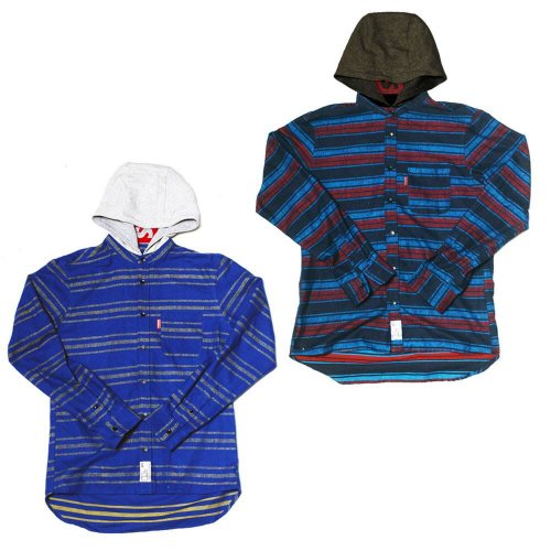 <img class='new_mark_img1' src='//img.shop-pro.jp/img/new/icons1.gif' style='border:none;display:inline;margin:0px;padding:0px;width:auto;' />HOOD BORDER SHIRTS