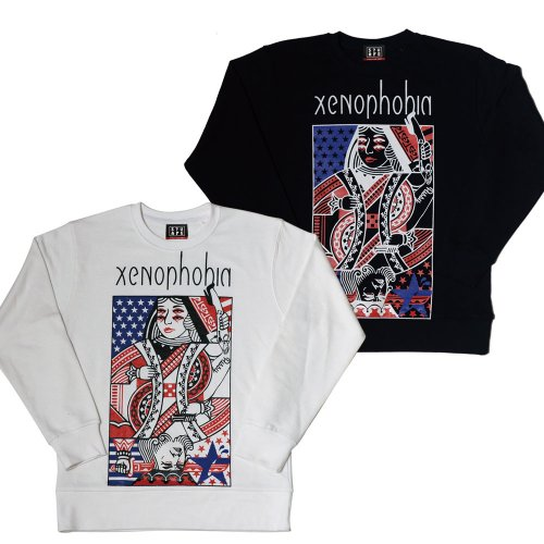 <img class='new_mark_img1' src='//img.shop-pro.jp/img/new/icons1.gif' style='border:none;display:inline;margin:0px;padding:0px;width:auto;' />TRUMP CREW NECK SWEAT