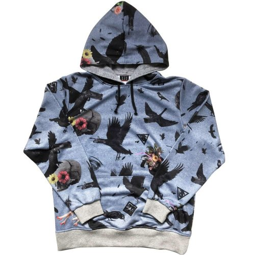 <img class='new_mark_img1' src='//img.shop-pro.jp/img/new/icons1.gif' style='border:none;display:inline;margin:0px;padding:0px;width:auto;' />CROW GUN SWEAT HOODY