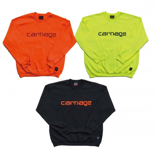 <img class='new_mark_img1' src='//img.shop-pro.jp/img/new/icons1.gif' style='border:none;display:inline;margin:0px;padding:0px;width:auto;' />CARNAGE CREW NECK SWEAT