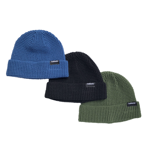 <img class='new_mark_img1' src='//img.shop-pro.jp/img/new/icons20.gif' style='border:none;display:inline;margin:0px;padding:0px;width:auto;' />WAFFLE CLOTH KNIT CAP