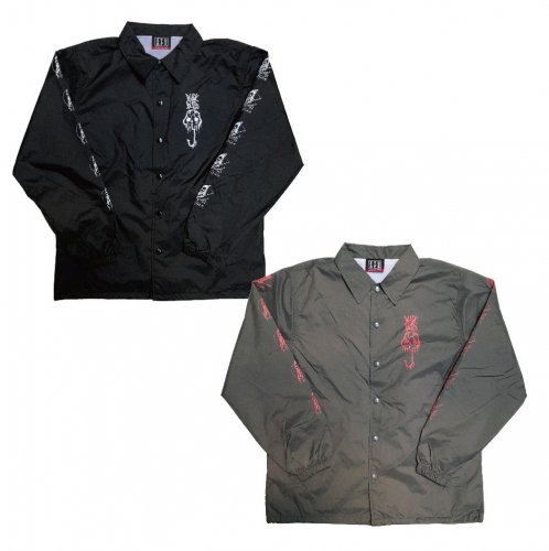 <img class='new_mark_img1' src='//img.shop-pro.jp/img/new/icons20.gif' style='border:none;display:inline;margin:0px;padding:0px;width:auto;' />BLACK BUZZ COACH JACKET