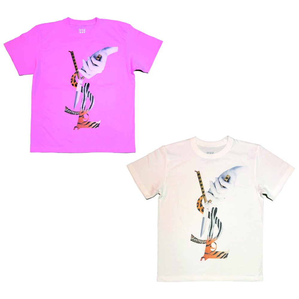 <img class='new_mark_img1' src='//img.shop-pro.jp/img/new/icons1.gif' style='border:none;display:inline;margin:0px;padding:0px;width:auto;' />YSL ANIMAL PATTERN T-Shirts