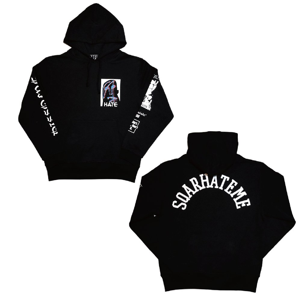 <img class='new_mark_img1' src='//img.shop-pro.jp/img/new/icons1.gif' style='border:none;display:inline;margin:0px;padding:0px;width:auto;' />HATE ME PULLOVER HOODY