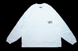 Wide body L/S tee ホワイト
