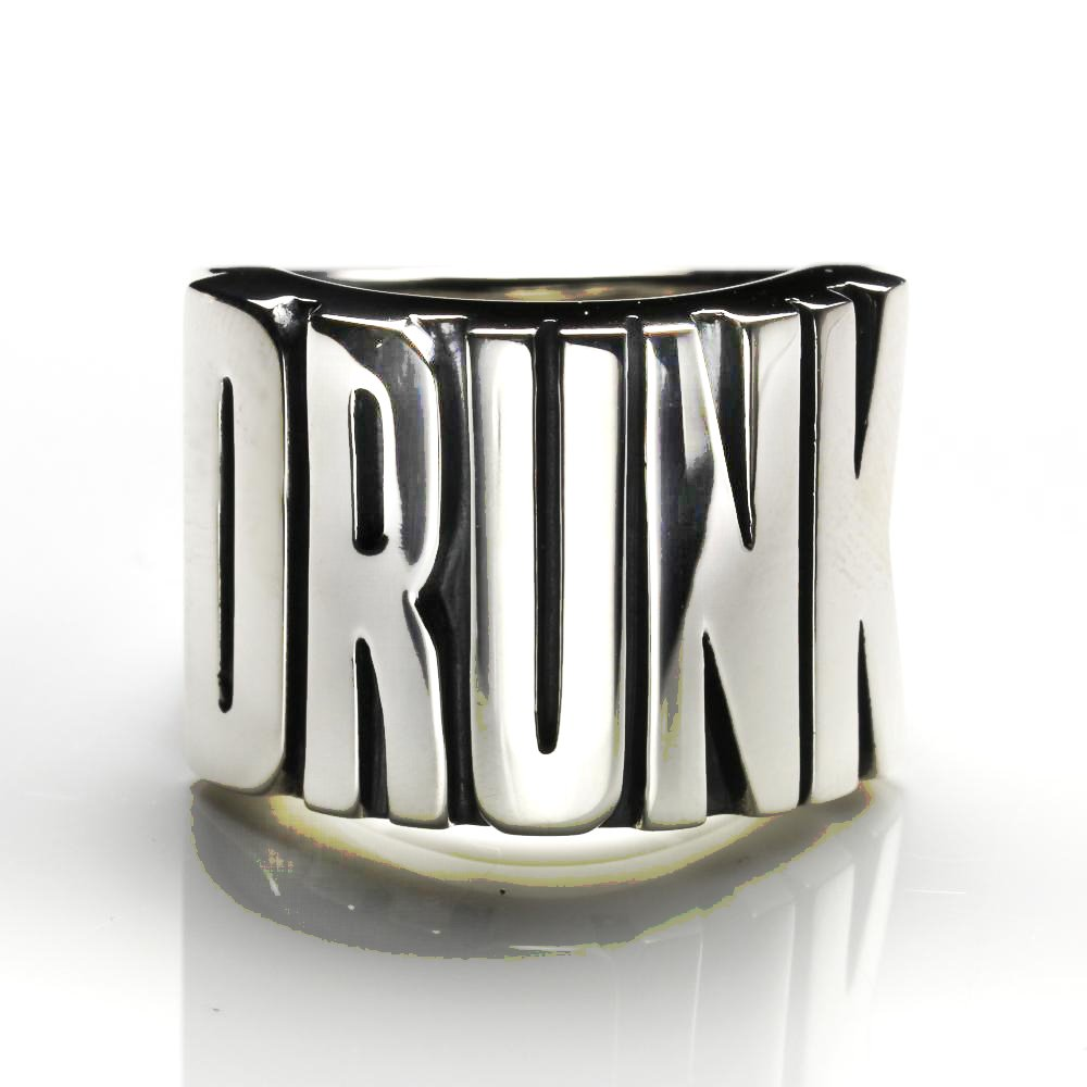 Drunk ring / Sterling