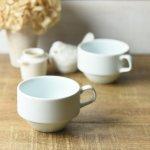 コトカ スタックコーヒーカップ ダブグレー