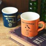 ファン・キャンプ 11cmマグカップ オレンジ(ペンギン)