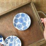 オーガニックガーデン 10cm豆皿 ダリア